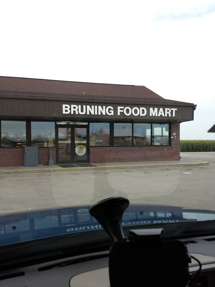 Bruning Food Mart: 6206 Spur 85C, Bruning, NE