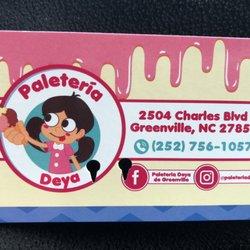 Paleteria Deya Ice Cream Ice Cream Frozen Yogurt 1410 S