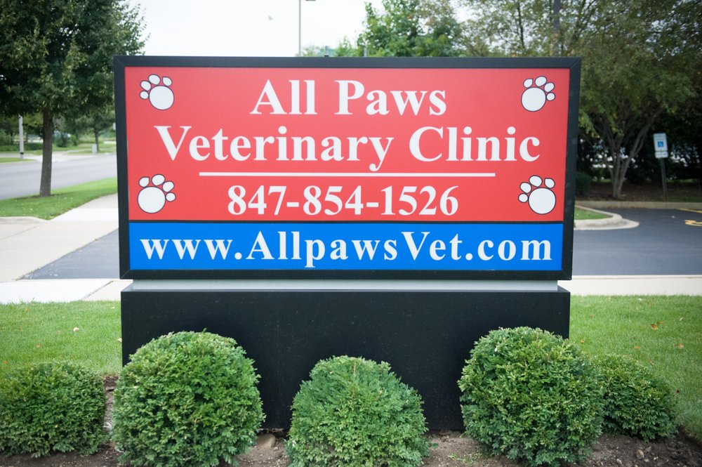 All Paws Veterinary Clinic: 1324 Ryan Pkwy, Algonquin, IL