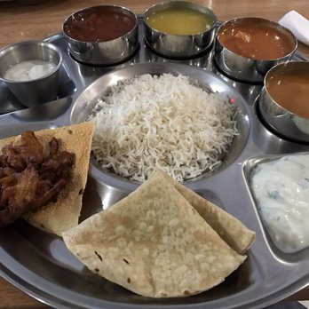 Photo Of Vatica Indian Cuisine Marietta Ga United States Lunch Thali