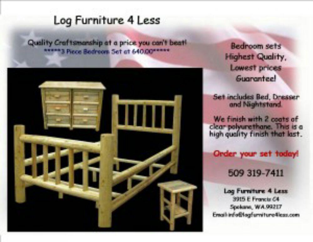 Captivating Log Furniture 4 Less   Furniture Stores   3915 E Francis Ave, Spokane, WA    Phone Number   Yelp