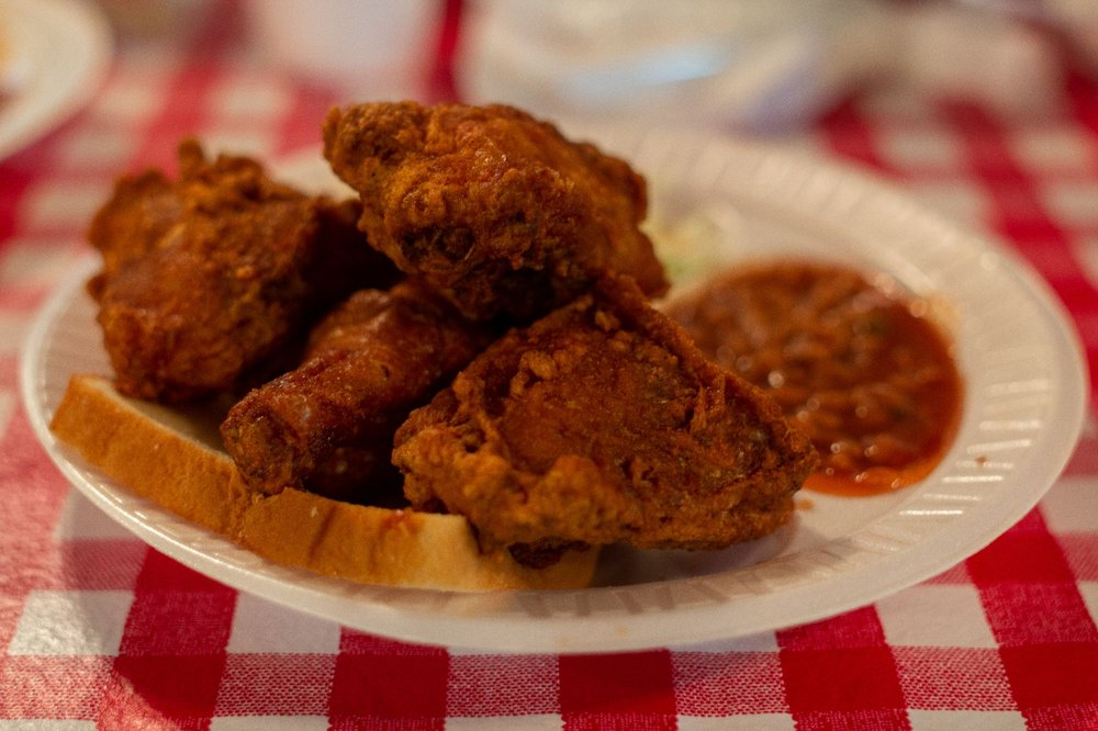 Gus's World Famous Fried Chicken: 1815 Washington Ave, Houston, TX