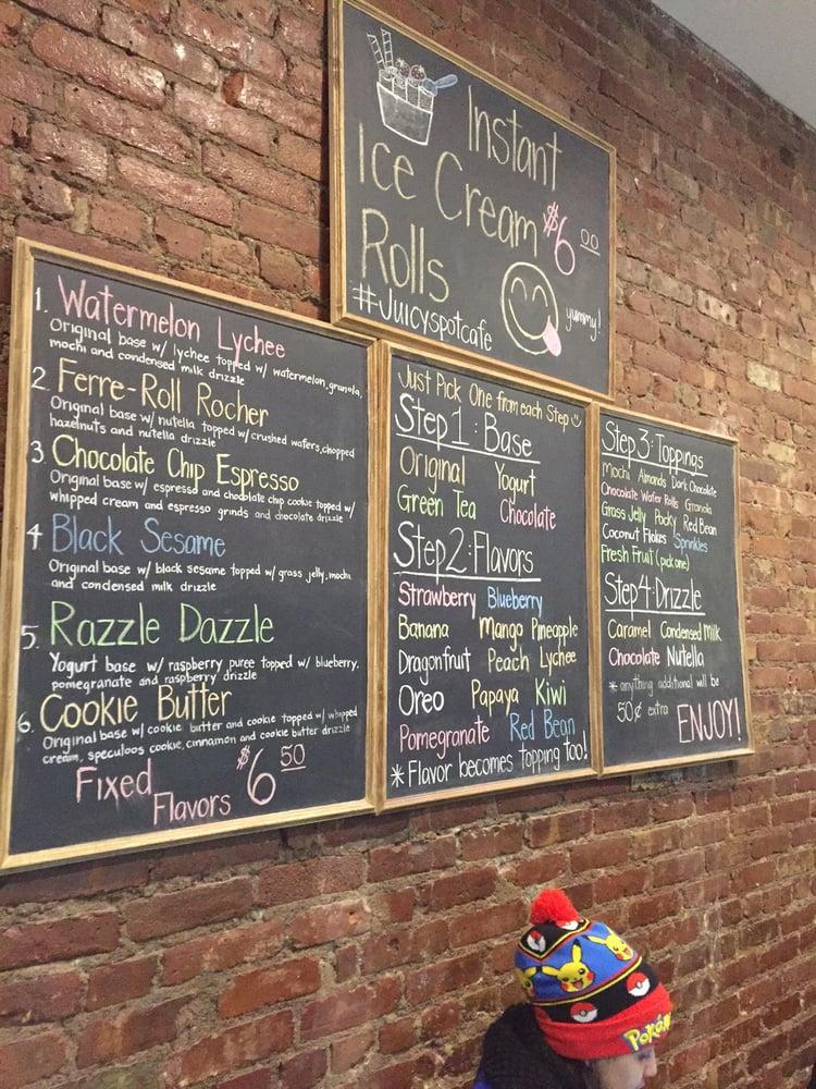 Juicy Spot Cafe New York Ny