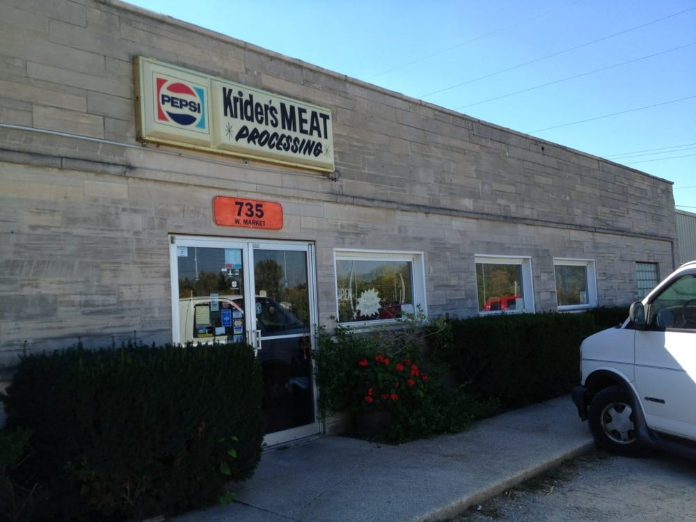 Krider's Meat Processing: 735 W Market St, Columbia City, IN