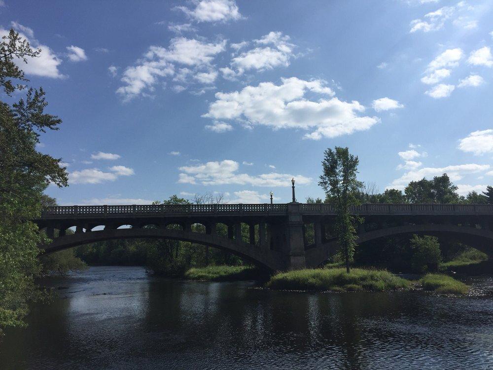 Paint River Boardwalk: Superior Ave M-69 & Wagner St, Crystal Falls, MI