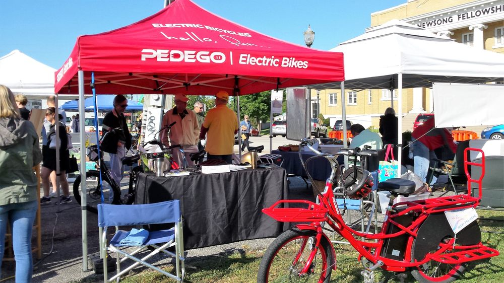 Social Spots from Pedego Electric Bikes Edwardsville