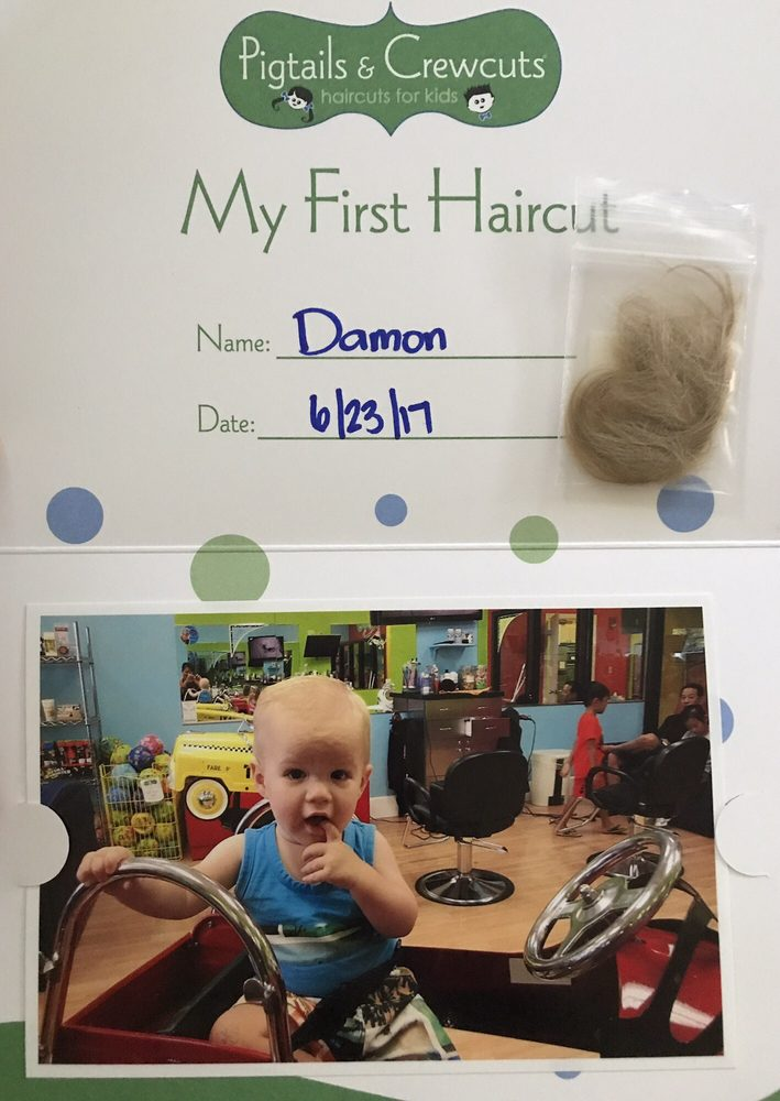 This Is The First Haircut Package Love It Yelp
