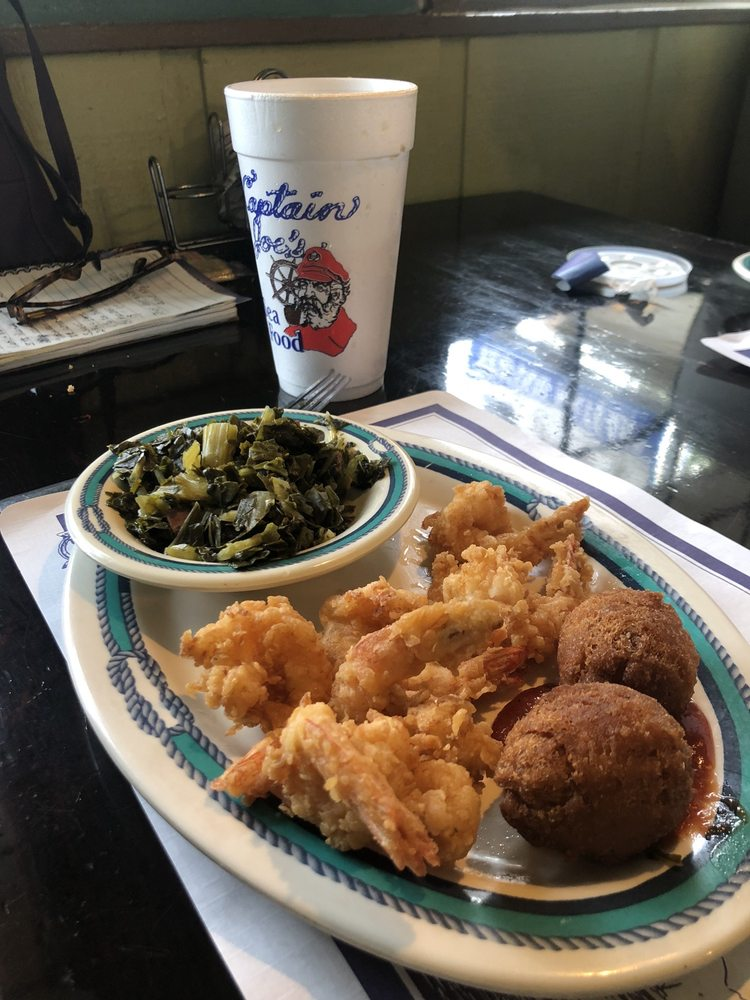 Captain Joe's Seafood: 317 S Coastal Hwy, Midway, GA