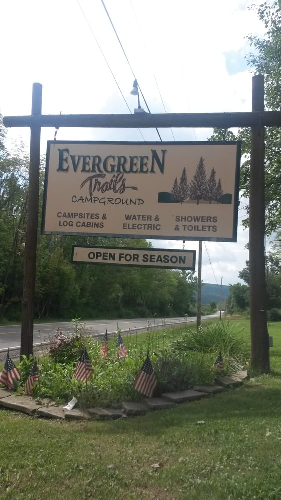 Evergreen Trails Campgrounds: 8403 County Road 15, Angelica, NY