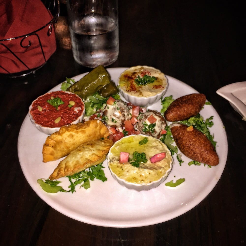 Appetizer Sampler! Yummy!