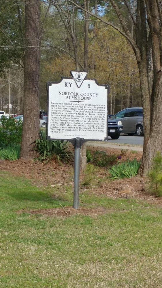 Norfolk County Almshouse Historical Marker