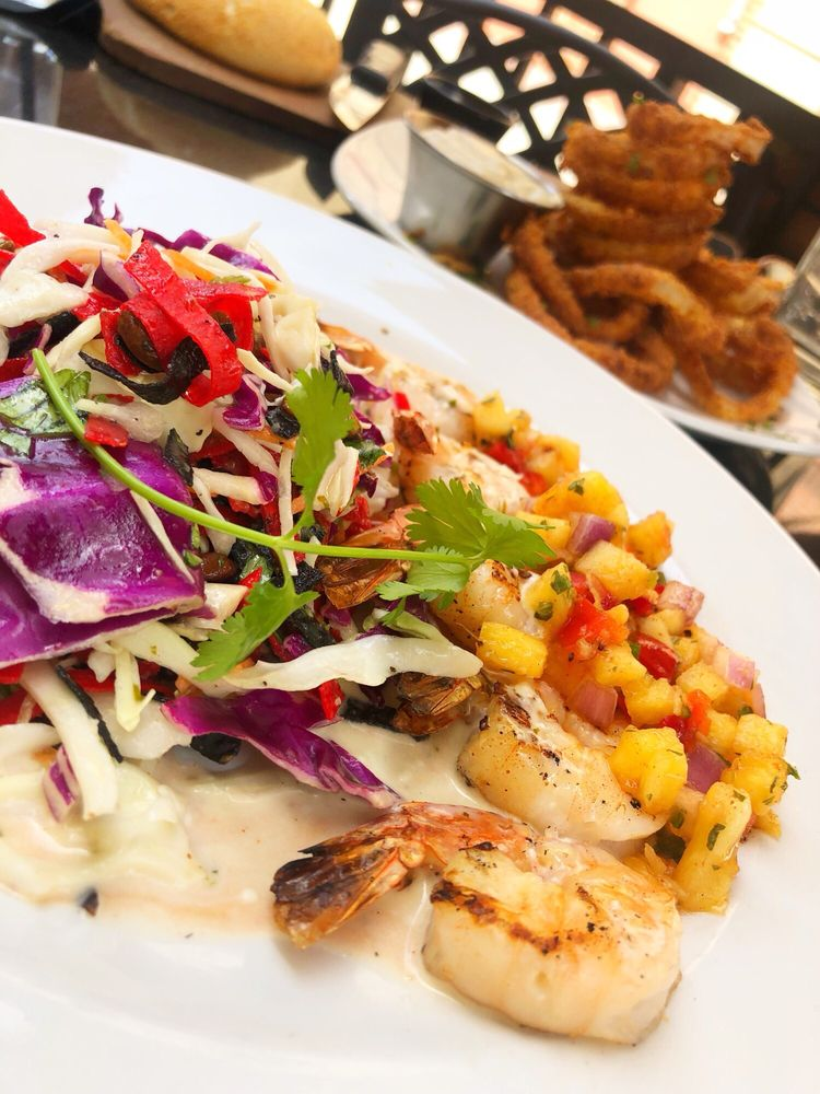 Food from Firebirds Wood Fired Grill