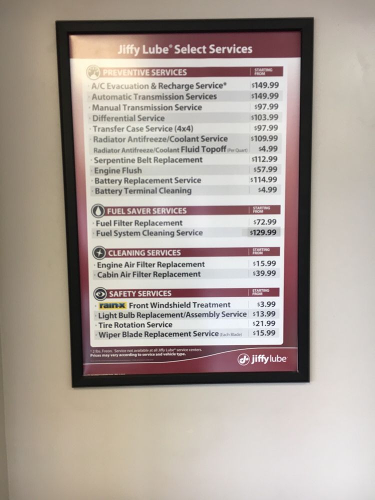 Jiffy Lube Transmission Fluid Change Cost   Upcoming New Car