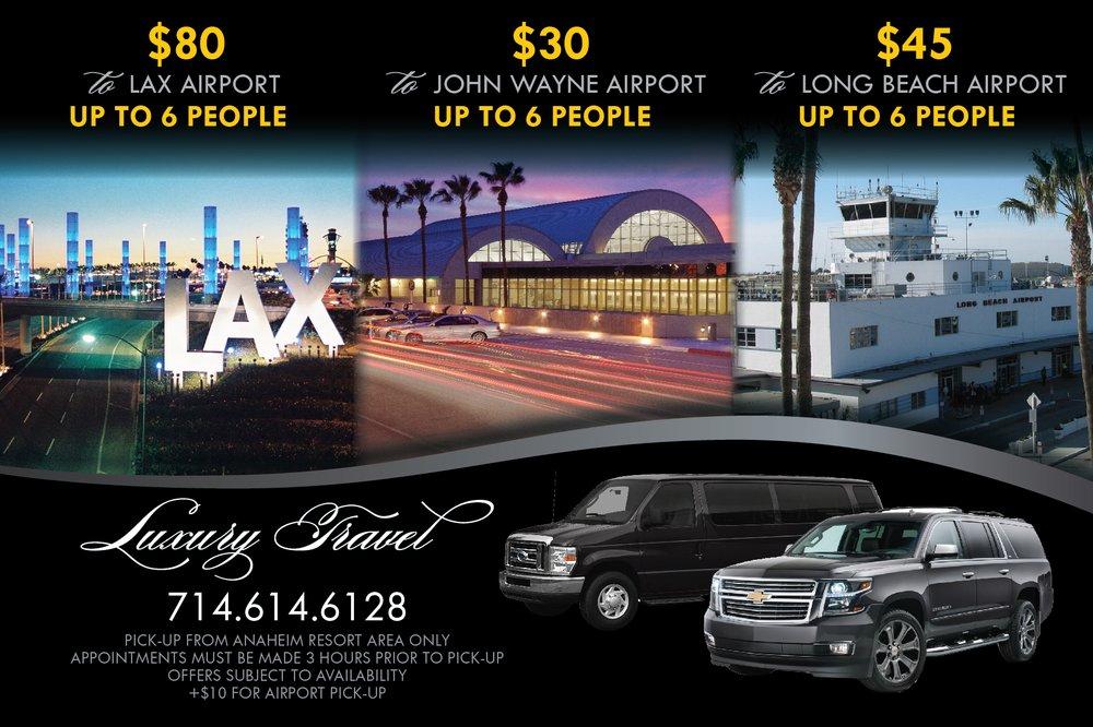 Luxury Travel Service: Anaheim, CA