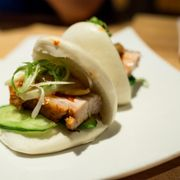 Photo of Ganso Ramen - Brooklyn, NY, United States. kimchi bun
