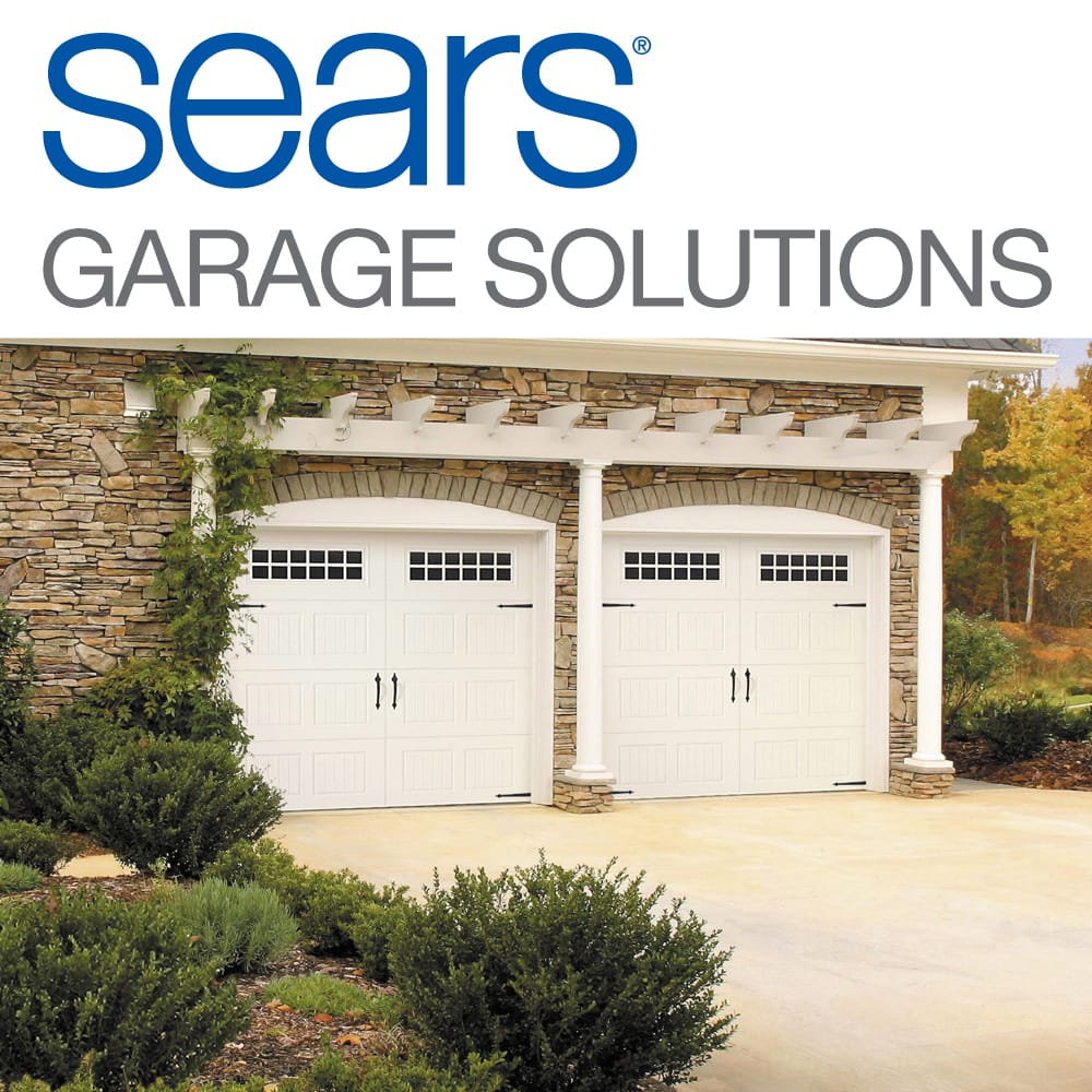 Sears Garage Door Installation And Repair Garage Door Services