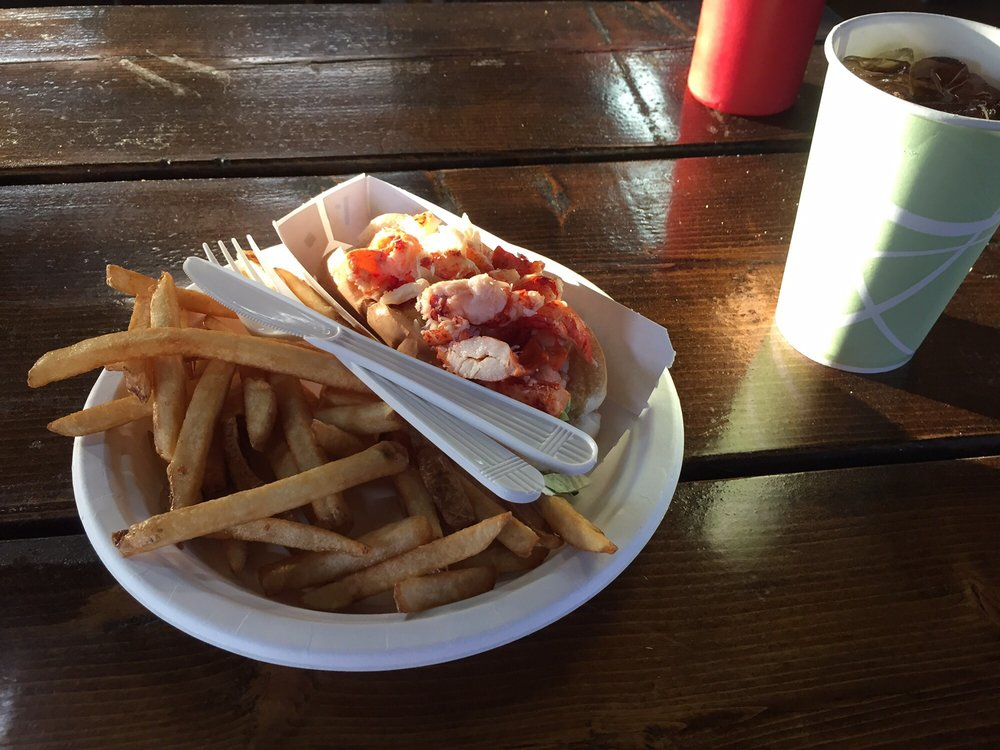 Lobster roll and fries always wonderful august 14 2017 for Susan s fish and chips