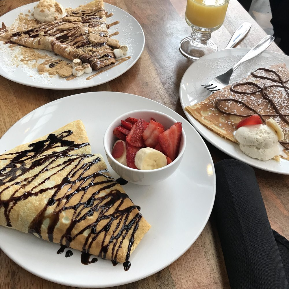 The Penny Path Cafe & Crepe Shop: 104 E Martin Luther King Jr Dr, High Point, NC