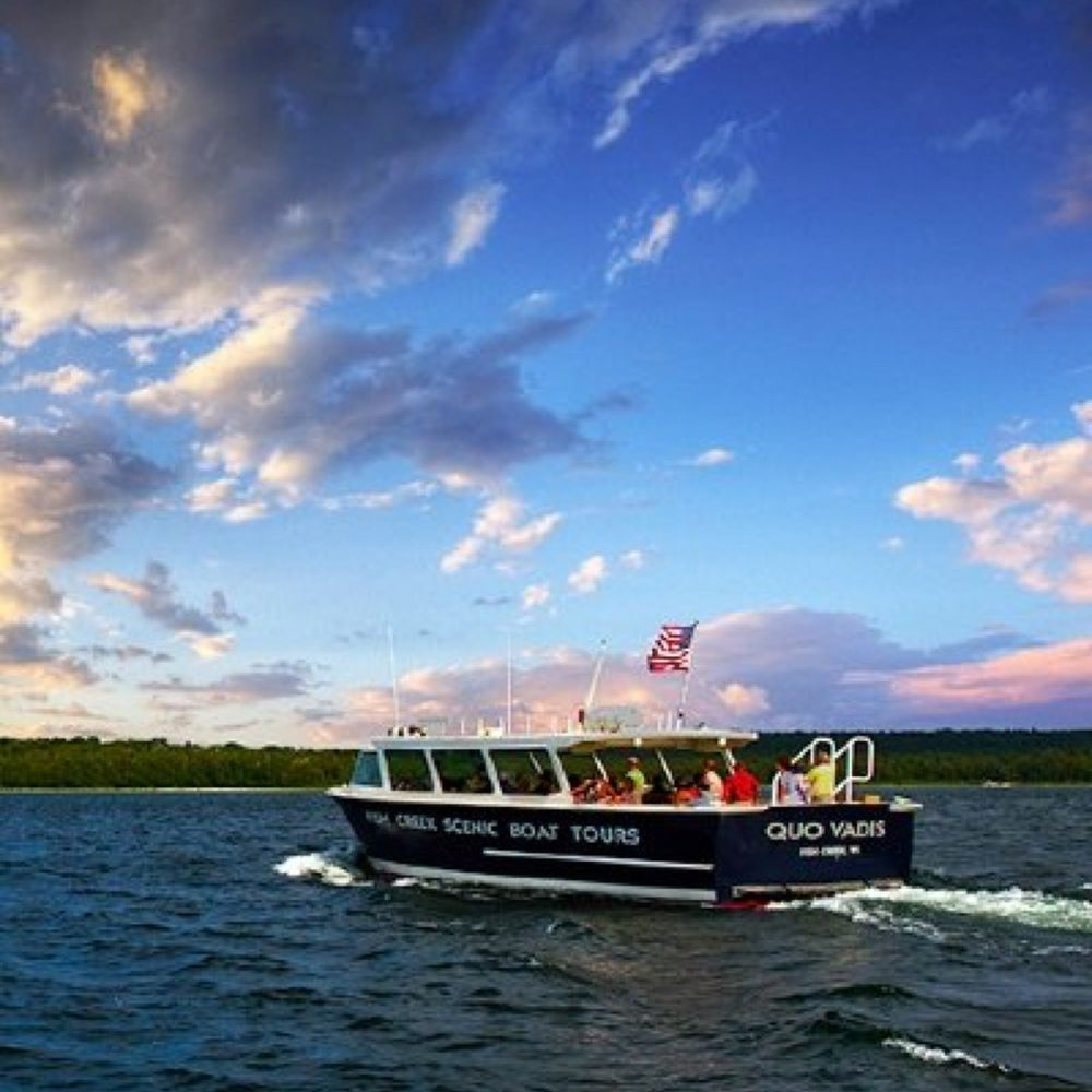 Fish Creek Scenic Boat Tours: 9448 Spruce St, Fish Creek, WI