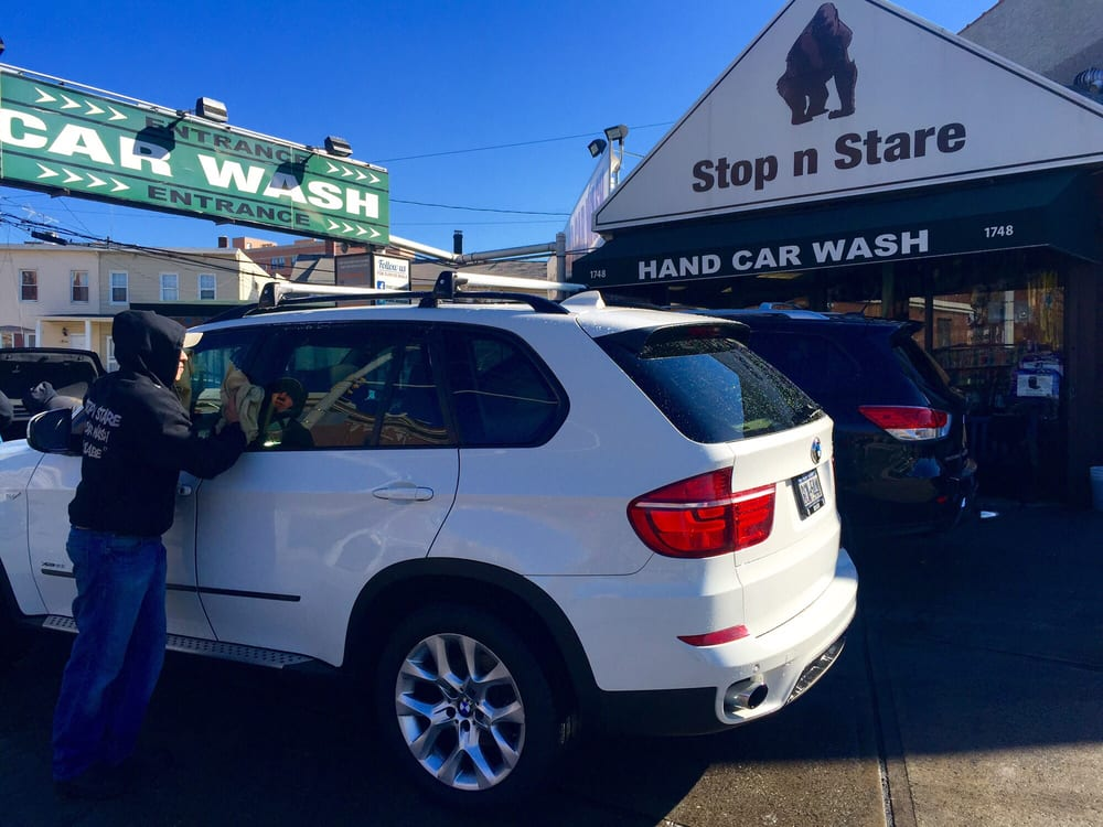 Stop N Stare Hand Car Wash 20 Reviews Car Wash 1748 Castle Hill Ave Westchester Square