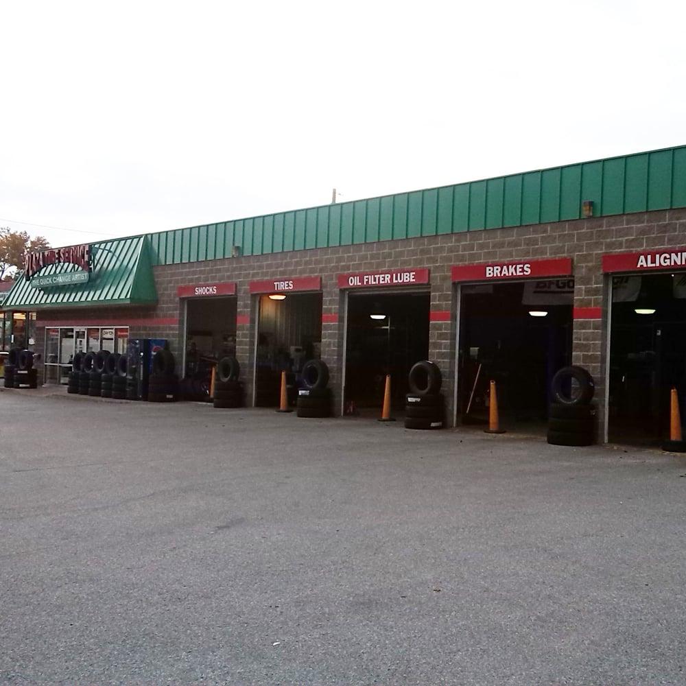 Plaza Tire Service: 702 W Main St, Benton, IL