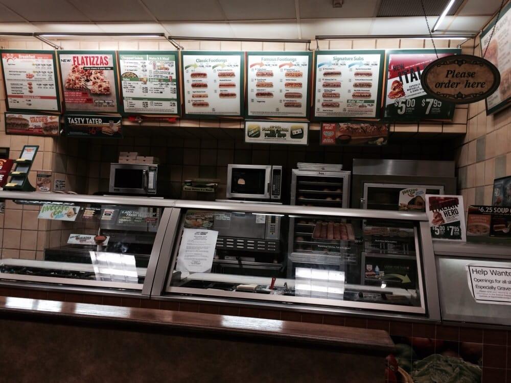 Subway Restaurants Irvine Ca