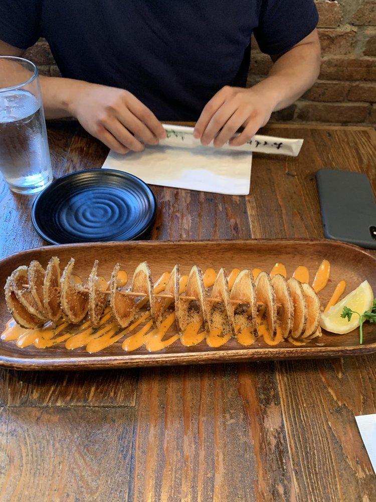 Food from Den Den Cafe Asiana