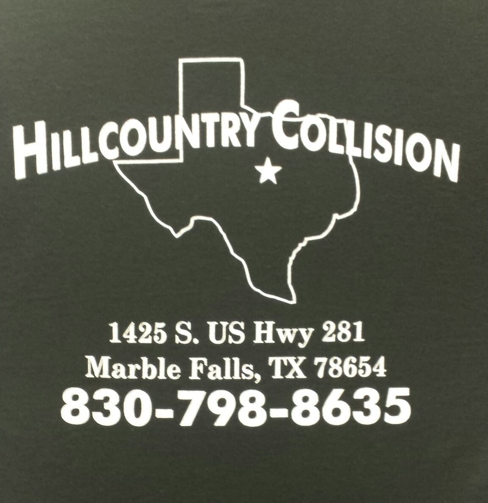 Hill Country Collision: 1425 S US Hwy 281, Marble Falls, TX