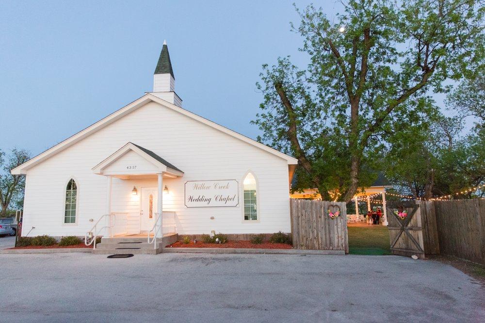 Willow Creek Wedding Chapel: 4357 S Treadaway Blvd, Abilene, TX