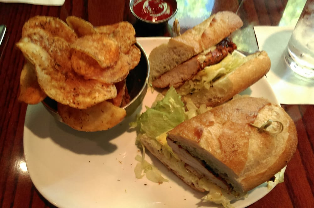 Blackened Chicken Sandwich With Cajun Chips Get The Chips