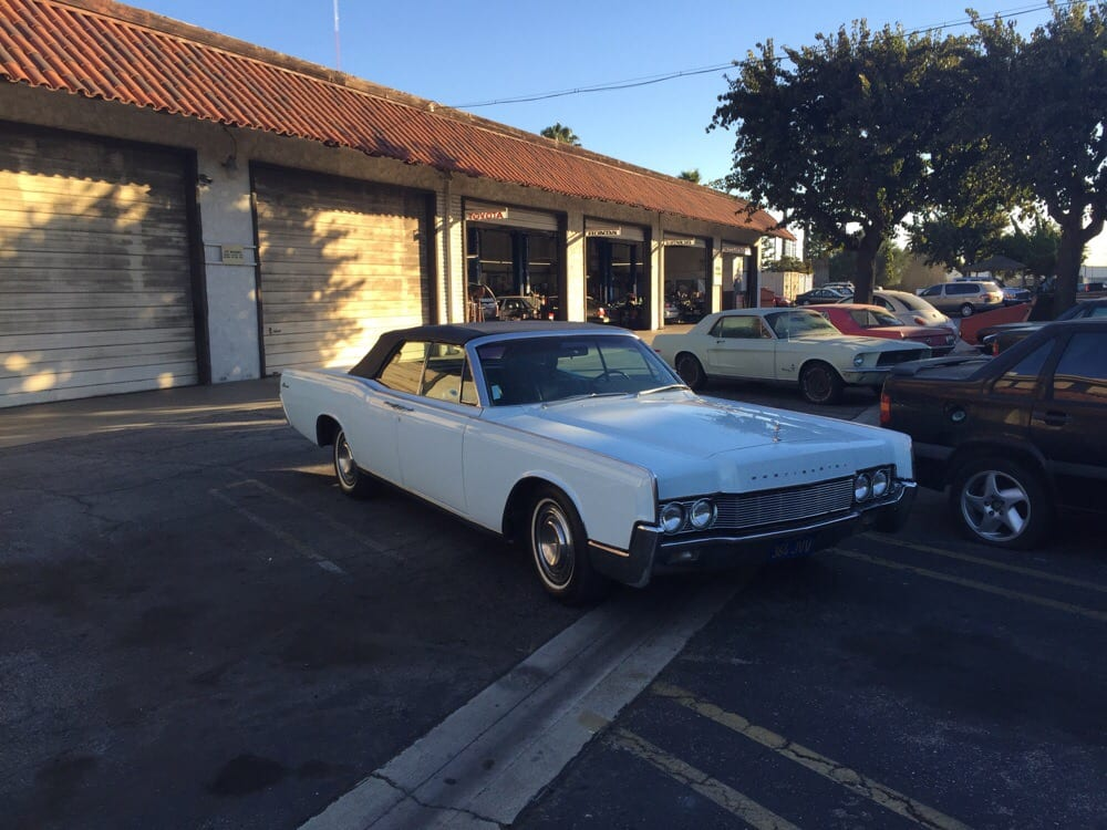 My 1967 Lincoln Continental waiting for LoJack and a brake job. - Yelp