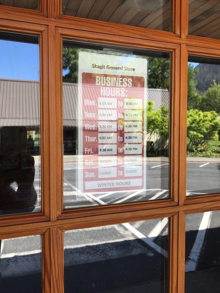 Skagit General Store: 500 Newhalem St Rockport, Washington, WA