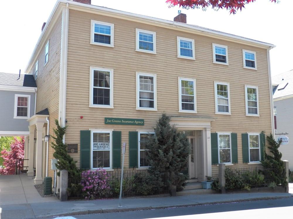 Joe Greene Insurance: 122 Washington St, Marblehead, MA