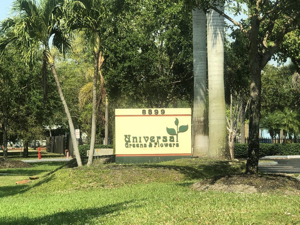 Universal Greens & Flowers: 8899 NW 18th Ter, Doral, FL