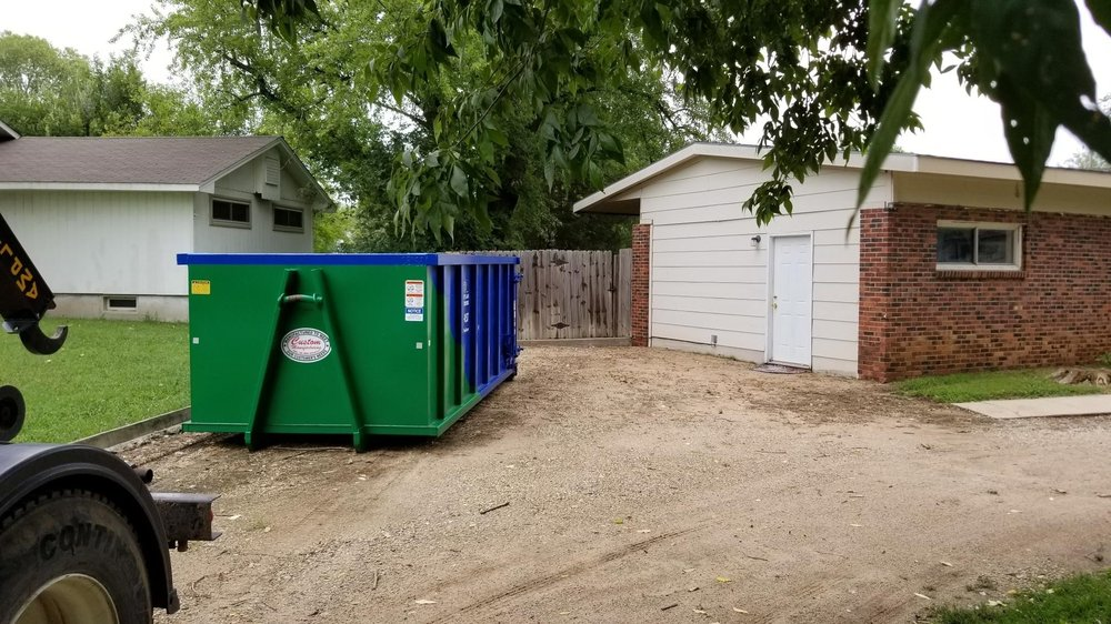 Heartland Dumpster Rental: 2301 S Mead St, Wichita, KS