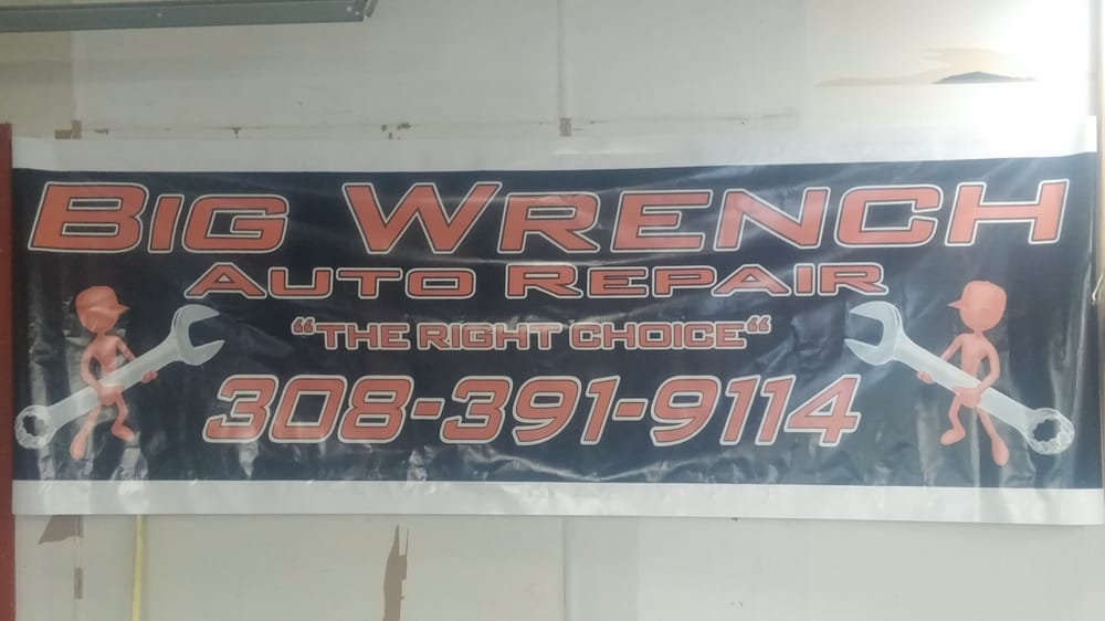 Big Wrench Auto Repair: 426 E Railroad St, Kearney, NE