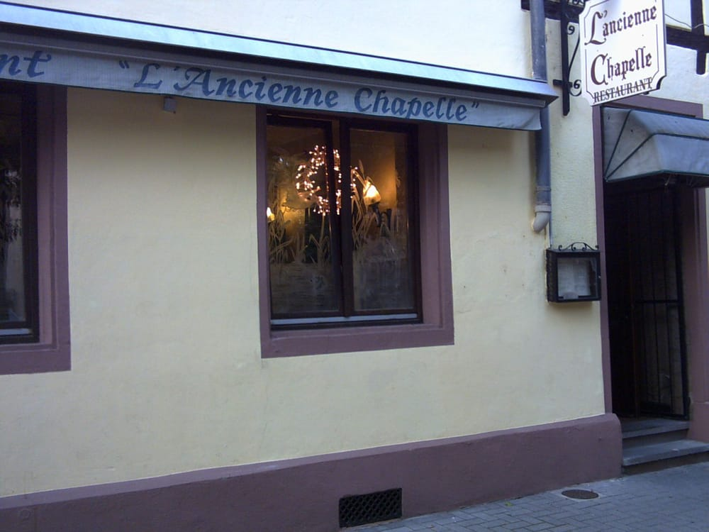 L ancienne chapelle 22 reviews french 2 place des for Reso strasbourg