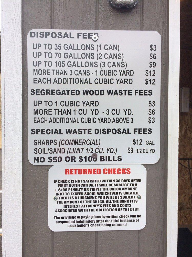 Douglas County Solid Waste: 1036 SE Douglas Ave, Roseburg, OR