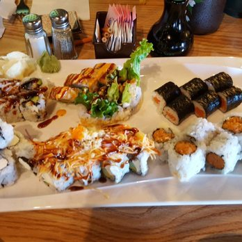 Photo Of Hy Sushi Lexington Ky United States Ortment Rolls