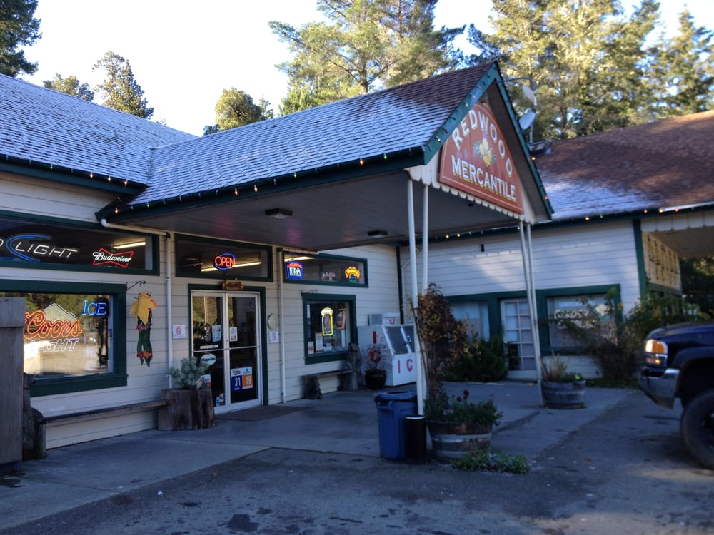 Redwood Mercantile At Camp Leggett: 66150 Drive Thru Tree Rd, Leggett, CA