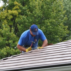 Photo Of Van Martin Roofing   Dayton, OH, United States. Stamped Metal Roof