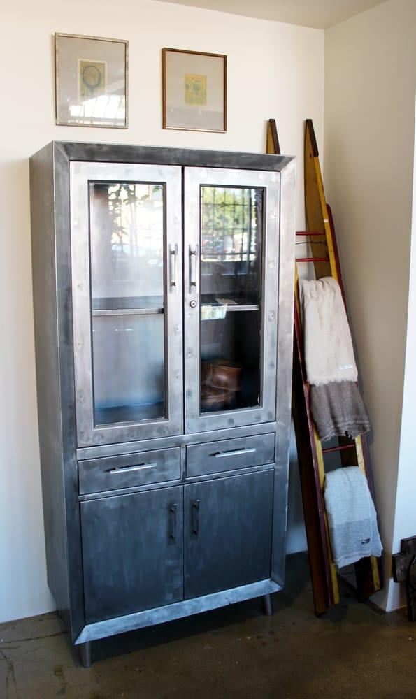 Photo of Casa Forte Studio - Los Angeles, CA, United States. Vintage Metal - Vintage Metal Medical Cabinet With Glass Doors - Yelp