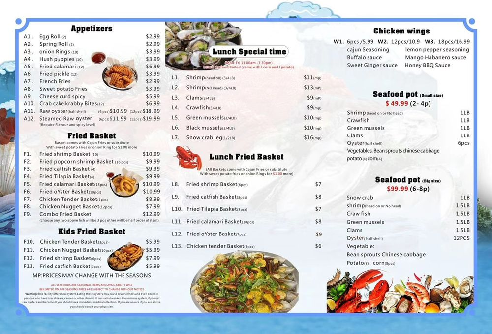 Craving Crab: 10804 E 71st St, Tulsa, OK