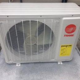 trane ductless mini split. photo of lovingood heating company - anderson, sc, united states. customer installed a. a new trane 16 seer ductless mini split