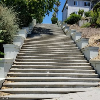 Photo Of Laveta Terrace Stairs   Los Angeles, CA, United States. The Stairs