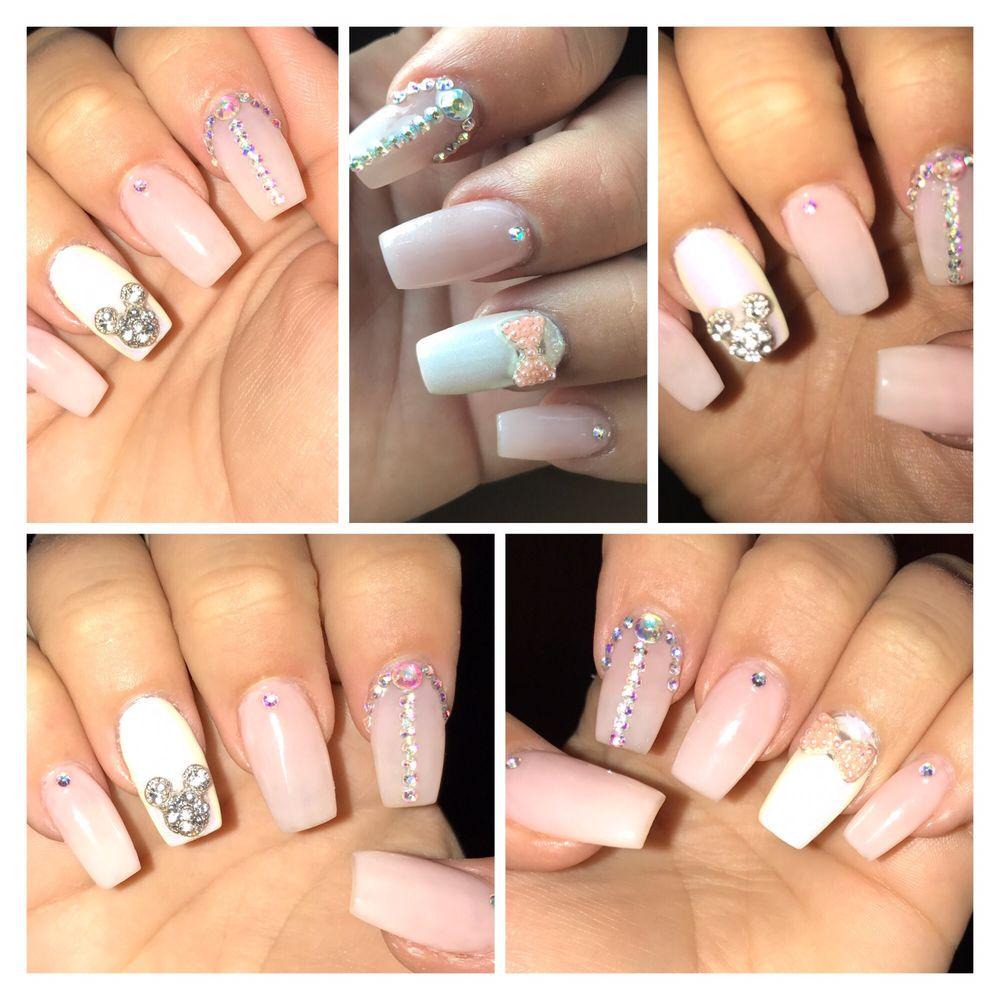 My Disney princess nails by Ty! - Yelp