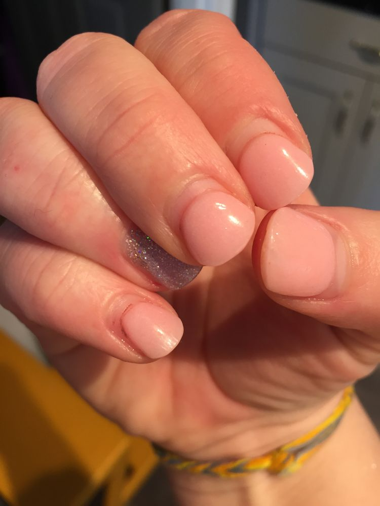 Nail Powder: My Set Of SNS Powder Nails Lasted A WHOLE MONTH. They Are