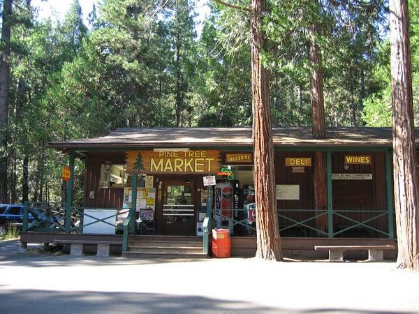 pine tree market yosemite nationl