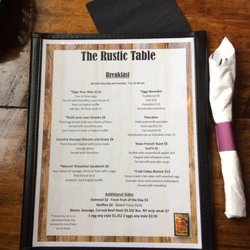 Charmant Photo Of The Rustic Table   Winchester, NH, United States ...