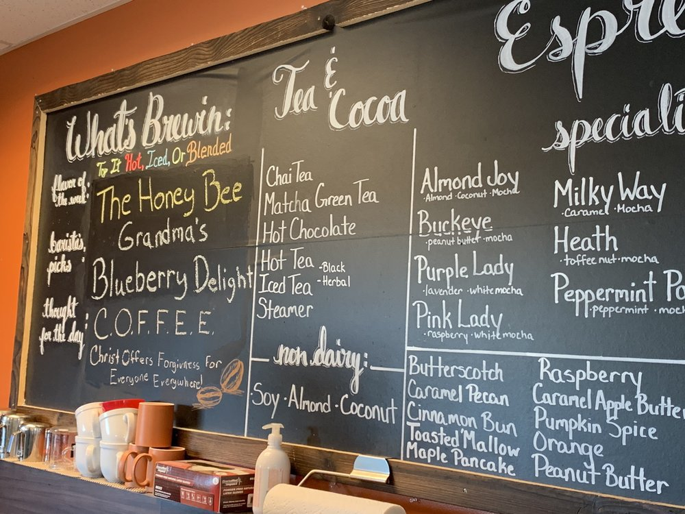 Ahimsa Coffee: 580 V Ave, Limon, CO